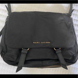 Marc Jacobs Black Nylon Flap Bag